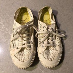 "Tretorn ""Vintage White"" Tournament Net Shoes"